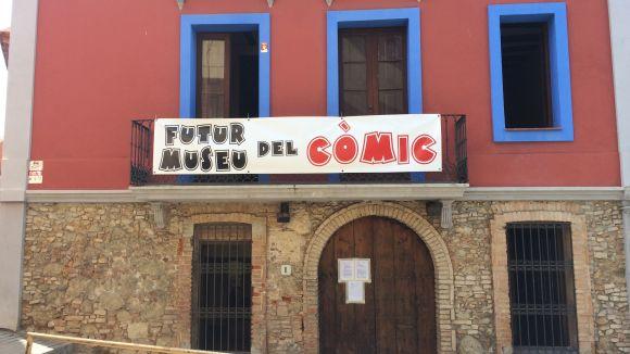 Sant Cugat tindrà un Museu del Còmic que obrirà portes a principis del 2019