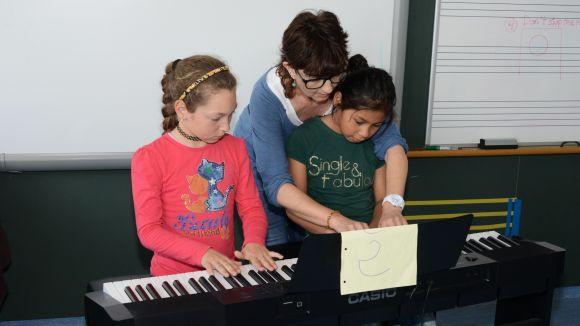 Quatre escoles de Sant Cugat participen en el projecte 'Música en conjunt' per millorar els resultats acadèmics