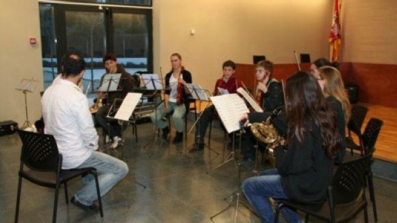 L'escola de música de Valldoreix comença el Nadal amb el concert dels seus alumnes