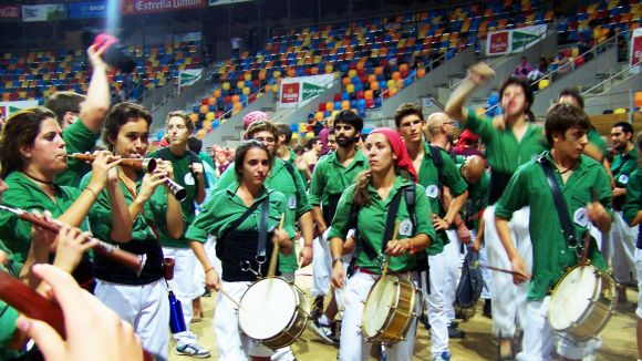 Els músics dels Gausacs, premiats per la seva actuació al Concurs de Tarragona