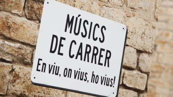 Comença el període per sol·licitar llicència perquè els músics puguin tocar al carrer