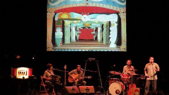 Imatge d'un dels espectacles / Foto: Facebook Musiquetes de Paper