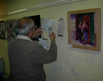 Muskana inaugura una exposició benèfica amb artistes del Vallès
