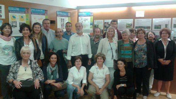 Foto de família de El Mussol durant la festa d'aniversari