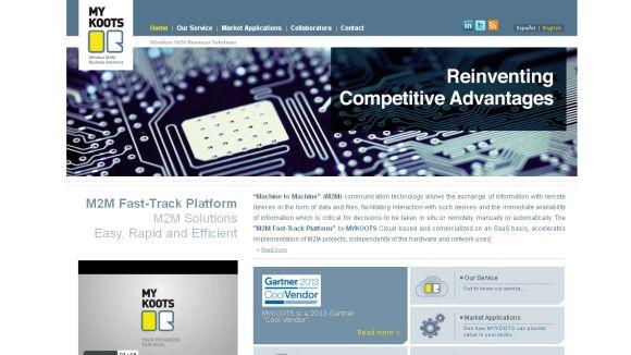 Captura de la web de la companyia / Font: Mykoots.com