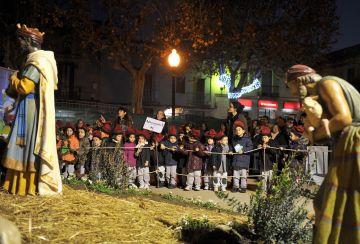 Les 'Nadales al Carrer' omplen de música i tradició el centre de Sant Cugat