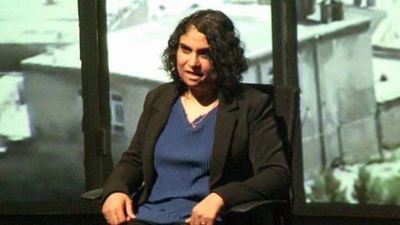 Nadia Ghula enllaça el seu passat a Kabul amb el seu present a Badalona