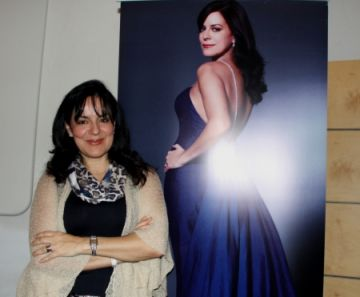 Nancy Fabiola Herrera: 'El concert també és un homenatge al fill de Victòria dels Àngels'