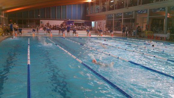 382 joves nedadors participaran en un Campionat de Natació Escolar de récord