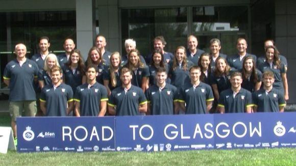 L'equip espanyol de natació prepara l'Europeu de Glasgow al CAR de Sant Cugat