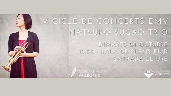 Concert: Natsuko Sugao Trio