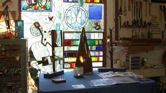 L'espai del vidre de les Naus de l'Art de la Floresta