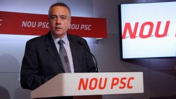 Villaseñor nega que el relleu al PSC impliqui menys catalanisme