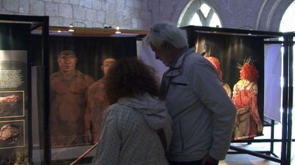 Els 'Neandertals a Catalunya', exposició del Museu del Monestir fins al 10 de juliol