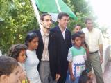 La bandera del Sàhara onejarà fins que marxin els nens acollits.