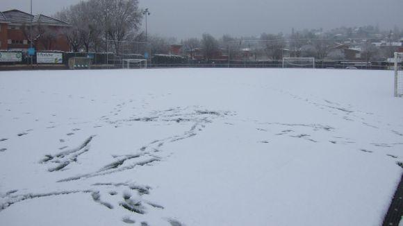Imatges de la nevada de 2013 / Foto:Cugat.cat