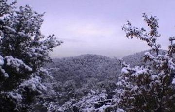 Risc de nevades als punts més alts del municipi