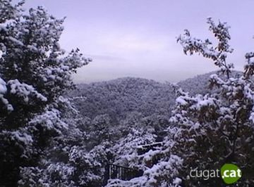 Es manté el risc de nevades a Sant Cugat