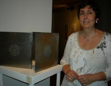 Una escultura de Neus Colet a la Canals-Galeria d'Art és l'aportació santcugatenca a la Tardor de l'Art 2010