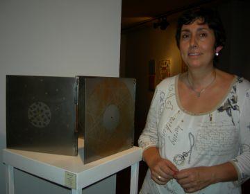 L'artista santcugatenca Neus Colet, entre les 30 obres seleccionades per Tardor d'Art