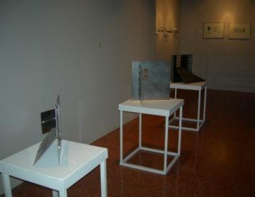 L'escultura i els gravats de Neus Colet, a l'exposició 'Finestres'