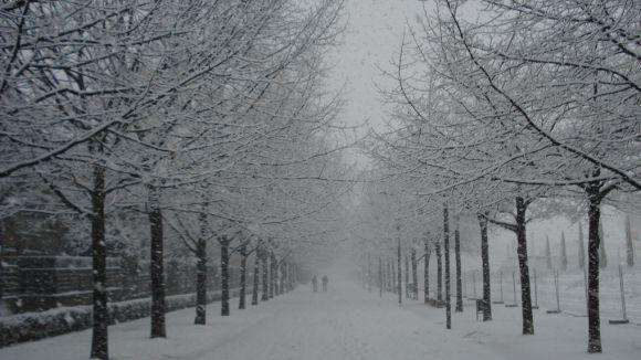 Aquest cap de setmana podria nevar a la ciutat