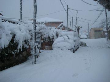 Avui fa un any de la gran nevada que va col·lapsar Sant Cugat