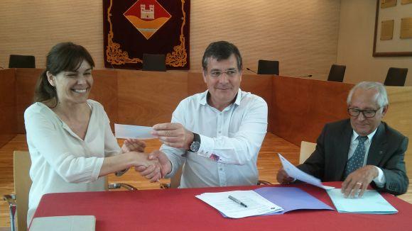 L'EMD atansa la mà a Nexe Fundació amb un conveni solidari