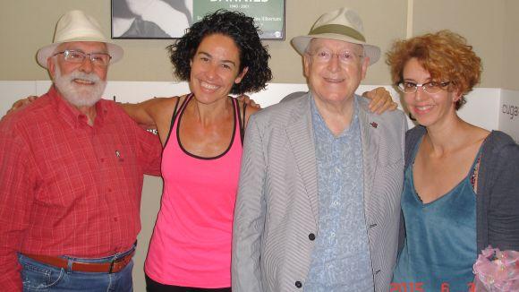 Nina i Jaume Pla visiten el 'Molta comèdia'