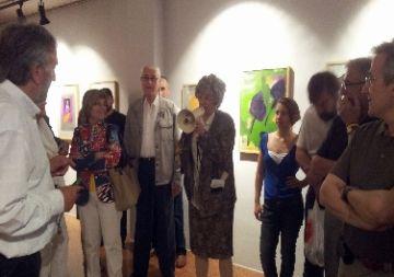 Les galeries mostren durant 'La Festa de l'Art' el seu compromís amb la cultura local