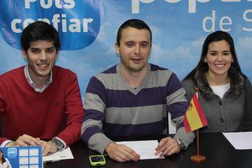Les NNGG acusen agrupacions i partits independentistes de promoure l'odi contra el PP