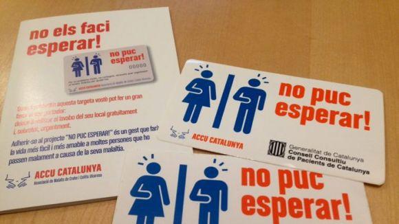 L'Ajuntament demana als establiments de Sant Cugat que se sumin a la campanya 'No puc esperar!'