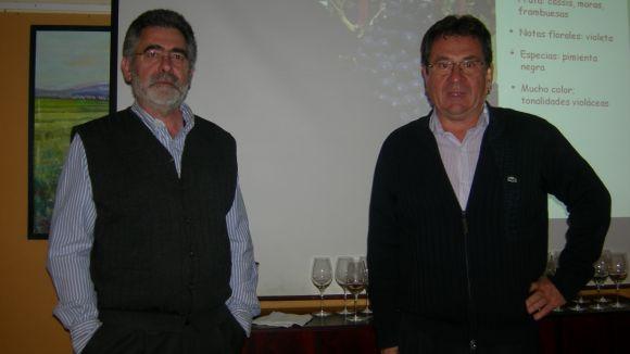 El Celler Laurona ha presentat a l'Ateneu un vi per a cada tipus de menjar