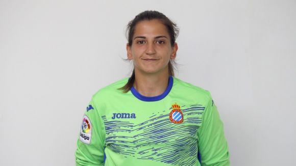 La portera Norma Méndez ha fitxat pel SantCu femení / Font: RCD Espanyol