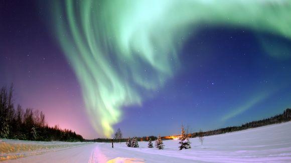 La llum del cel del nord és un dels temes de la conferència / Foto: Nasa