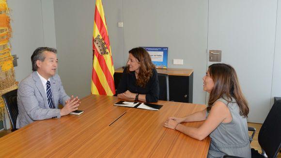 El nou cònsol del Japó a Barcelona visita Sant Cugat