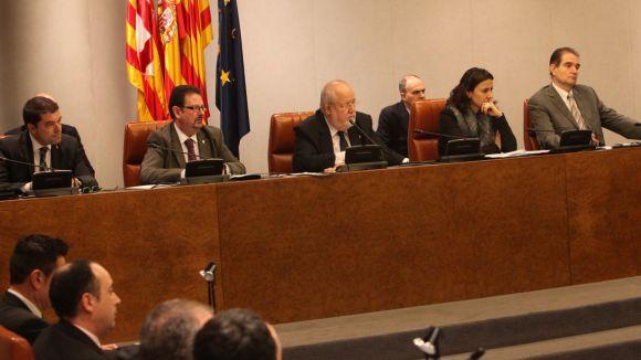 La Diputació aprova nou govern sense el PP i Conesa segueix sent vicepresidenta