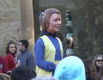 Presència santcugatenca a la trobada de gegantons de les festes de Santa Eulàlia de Barcelona