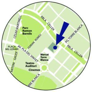 L'Oficina Local d'Habitatge està al passeig de Torre Blanca