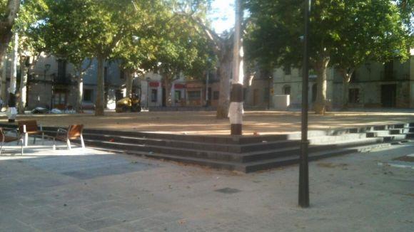 La plaça de Barcelona s'estrena avui