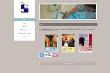 L'escola Pou d'Art estrena pàgina web