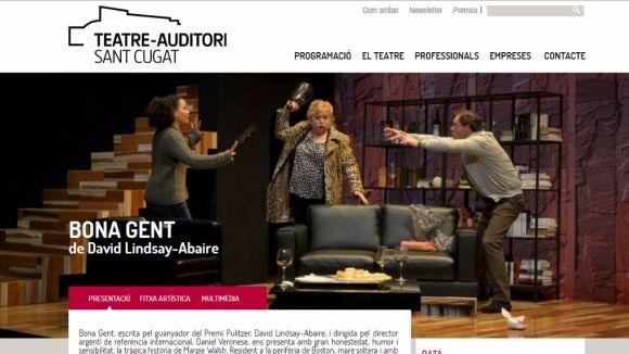 El Teatre-Auditori estrena una nova web més visual
