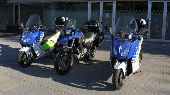 La Policia Local incorpora tres noves motos al cos, dues d'elles elèctriques