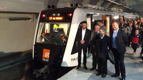 La L7 de FGC incorpora cinc nous trens