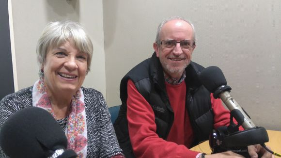 Núria Farran i Ton Marimon parlen de la tasca d'Oxfam Intermon a la ciutat