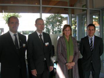 Una delegació de diputats s'interessa per la planta local d'HP