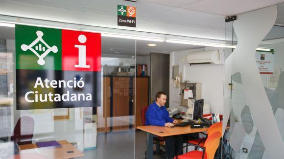 Oficina d'Atenció Ciutadana de Mira-sol / Foto: Web de l'Ajuntament