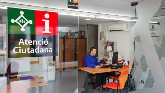 L'Oficina d'Atenció Ciutadana de Mira-sol / Foto: Ajuntament de Sant Cugat