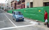 La primera fase de les obres dels Quatre Cantons va finalitzar amb l'obertura al trànsit de vehicles del carrer Francesc Moragues