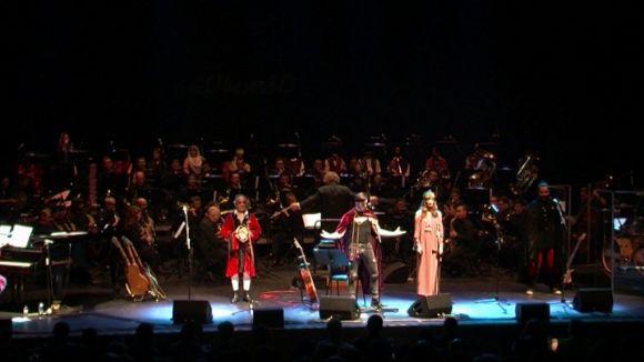 Obeses estrena a Sant Cugat 'La llegenda de la rosa i el drac' amb un públic entregat